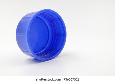 blue Drinking cap. isolate background