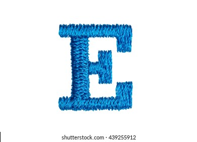 Alphabet e images stock photos vectors shutterstock blue embroidery designs alphabet e isolate on white background thecheapjerseys Choice Image