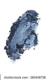 Blue Eye Shadow Smear