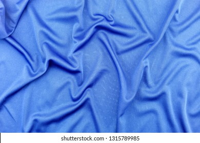 Blue Fabric pattern for background and design.
