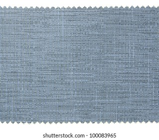 Blue fabric swatch samples texture