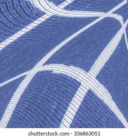 blue fabric texture,white lines