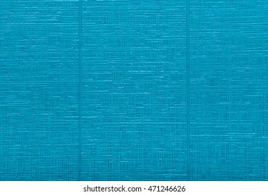 Blue Fabric Wallpaper Background/ Texture