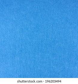 Blue felt cloth fragment as a background texture