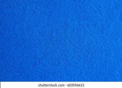 Blue felt texture for background.