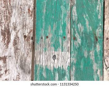 Blue Fence Board