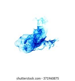 Blue fire.