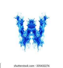 Similar Images Stock Photos Vectors Of Blue Fire Letter M