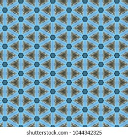Blue Geometric Background Pattern