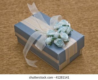blue gift box