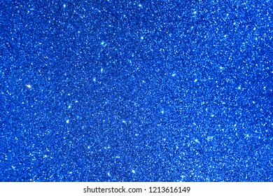 blue giltter abstract background