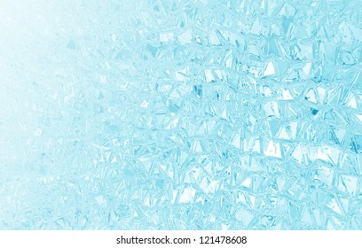 Blue Glass Product Background