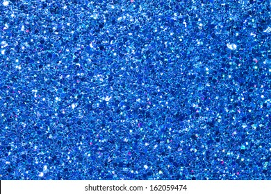 Blue Glitter Background/Texture/Abstract.