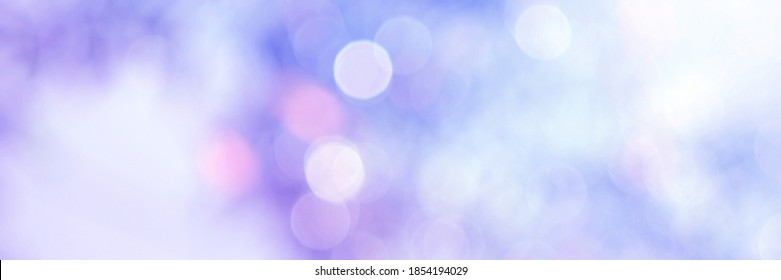 Blue glitter bokeh circle glow blurred and blur abstract. Glittering shimmer bright luxury . White and silver glisten twinkle for texture wallpaper and background backdrop.