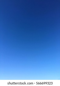 Blue gradient abstract background. Morning blue gradient sky.