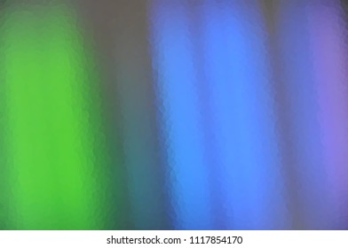 Blue green striped background rainbow in pastel colours line illustration Wallpaper banner