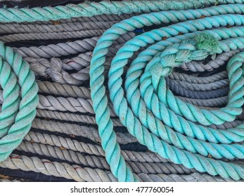 Blue and Grey Nautical Ropes