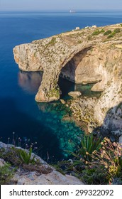 Blue Grotto in Zurrieq, Malta