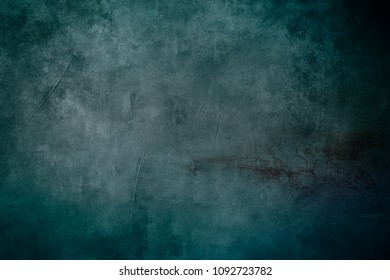 blue grungy canvas draft background