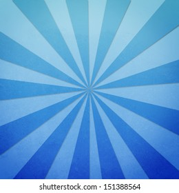 Blue grungy radial lines background