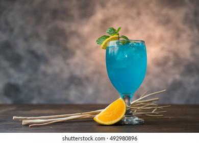 Blue Lagoon Cocktail Images Stock Photos Vectors