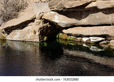 Blue Hole, New Mexico, natural water hole
