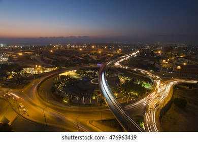 Blue Hour in Karachi City