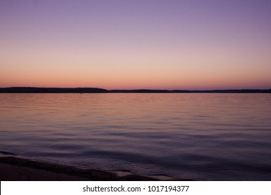 Blue Hour over lake