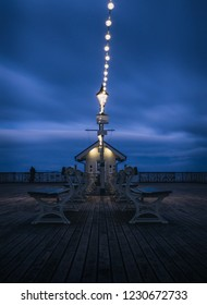 Blue hour at Penarth Pier
