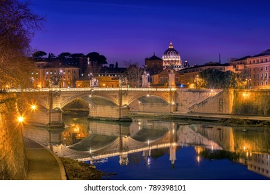 Blue hour at River Tiber!