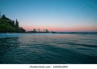 Blue hour sunrises on the goldcoast