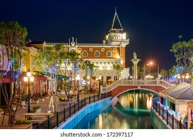 Blue Hour at The Venezia Hua Hin,