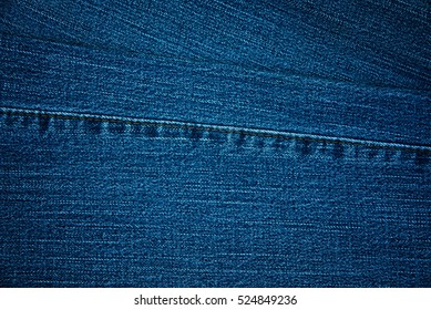 Blue Jean fabric for background and textured