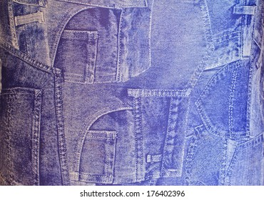 The blue jeans, Can use background