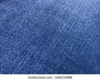 Blue Jeans Fabric Closep
