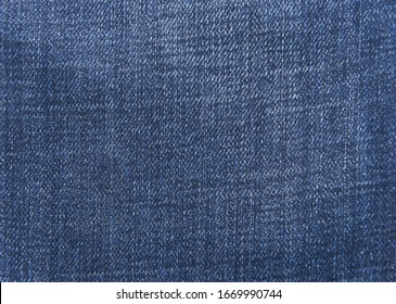 Blue jeans fabric. Denim jeans texture,closeup