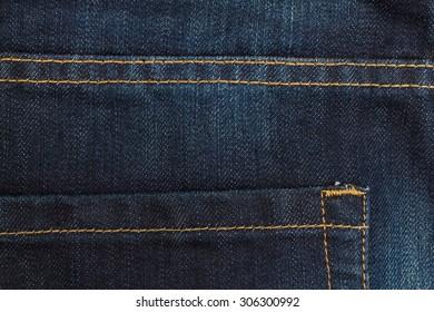 Blue jeans pocket closeup,fashion