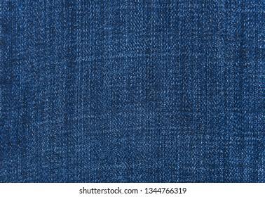 Blue Jeans texture close up