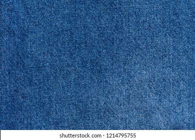Blue jeans texture . denim background.