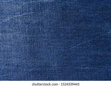 Blue jeans texture. Natural denim background. Close up
