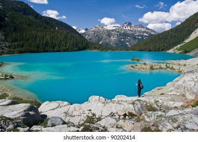 Blue, Blue Joffre Lake