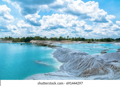 Blue Kaolin Lake