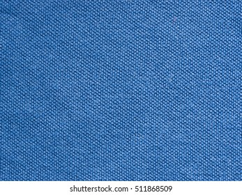 blue knitted Jersey polo texture as textile background