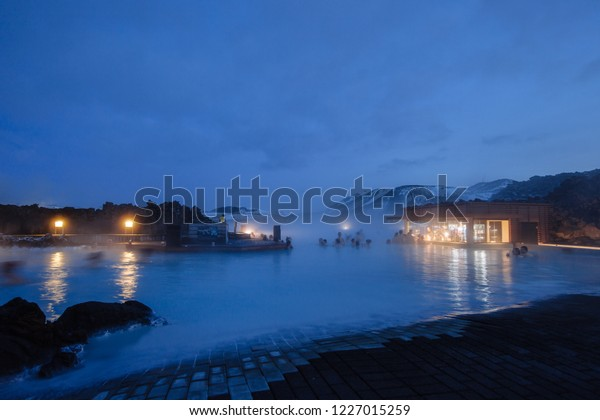 Blue Lagoon Iceland Winter Stock Photo Edit Now 1227015259