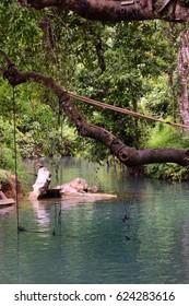 Blue lagoon lao