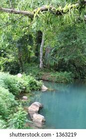 Blue Lagoon In Luang Prabang - Laos