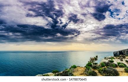The Blue Lagoon on Comino Island, Malta Gozo..