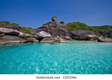 Blue Lagoon on Similan Islands
