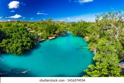The Blue Lagoon, Port Vila, Efate, Vanuatu - famous tourist destination