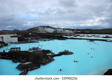 Blue lagoon spa resort in Iceland